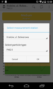 Air quality Lesser Poland- screenshot thumbnail