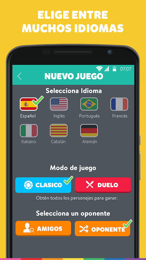 Preguntados - screenshot