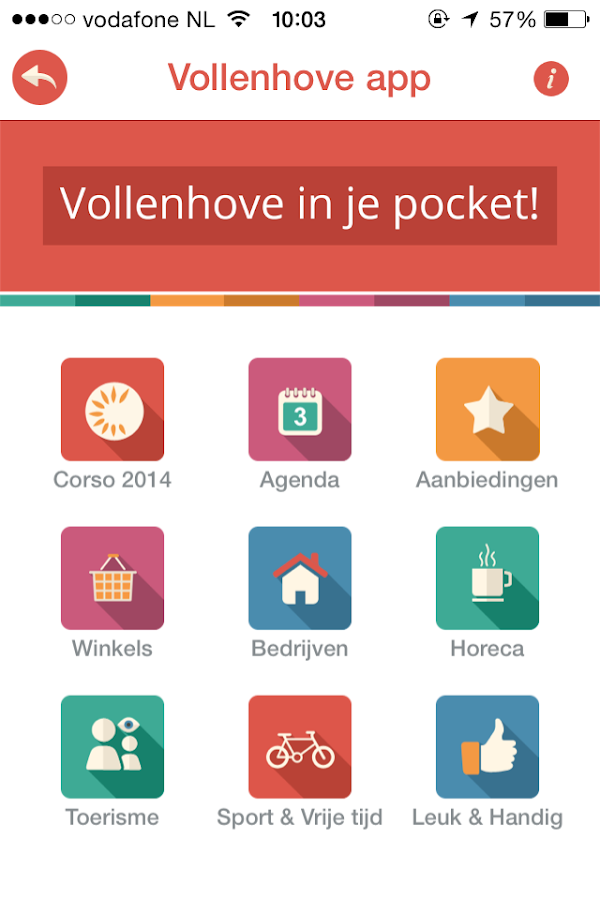 Vollenhove app - screenshot