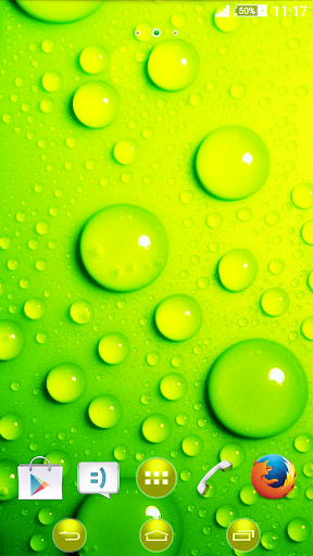 eXperiance Theme Green Bubbles