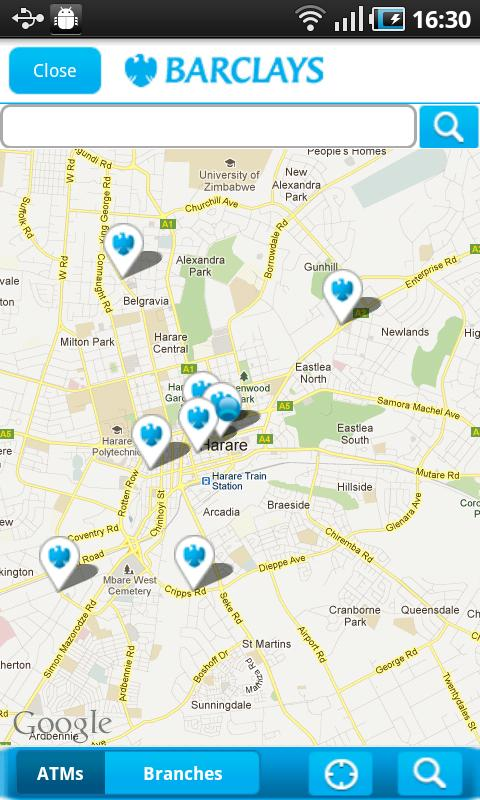 Barclays Zimbabwe - screenshot