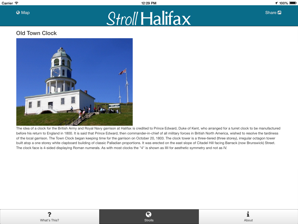 Stroll Halifax- screenshot