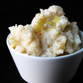 Lemon Rice Pudding.