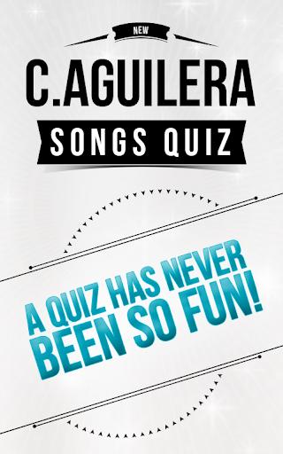 Christina Aguilera -Songs Quiz