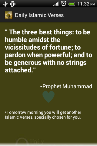 Daily Islamic Verses Free