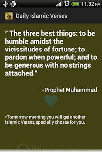 Daily Islamic Verses Free - screenshot thumbnail