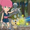 Ninja Girl: Throwing RPG icon