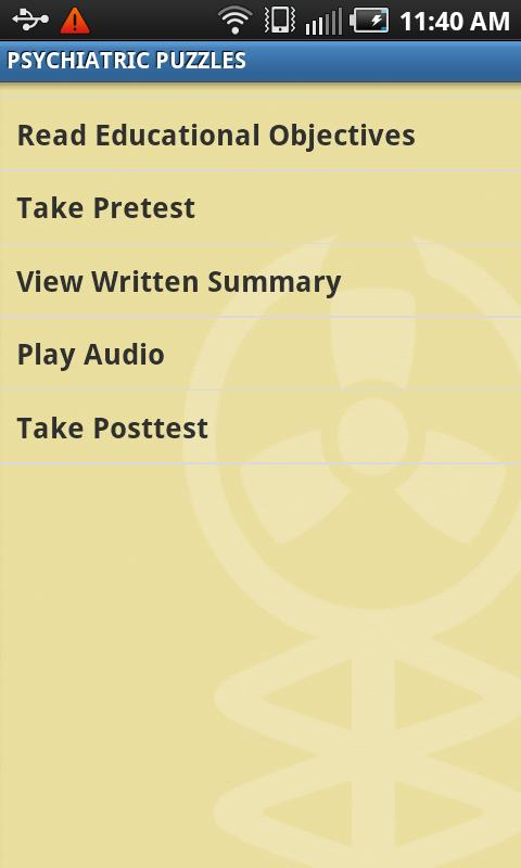 Audio Digest - screenshot
