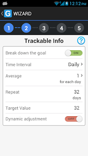 GoalTracker - screenshot thumbnail