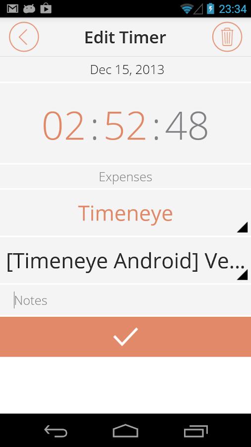 Timeneye Classic - screenshot
