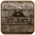 ZT Wood Theme GO Launcher EX icon