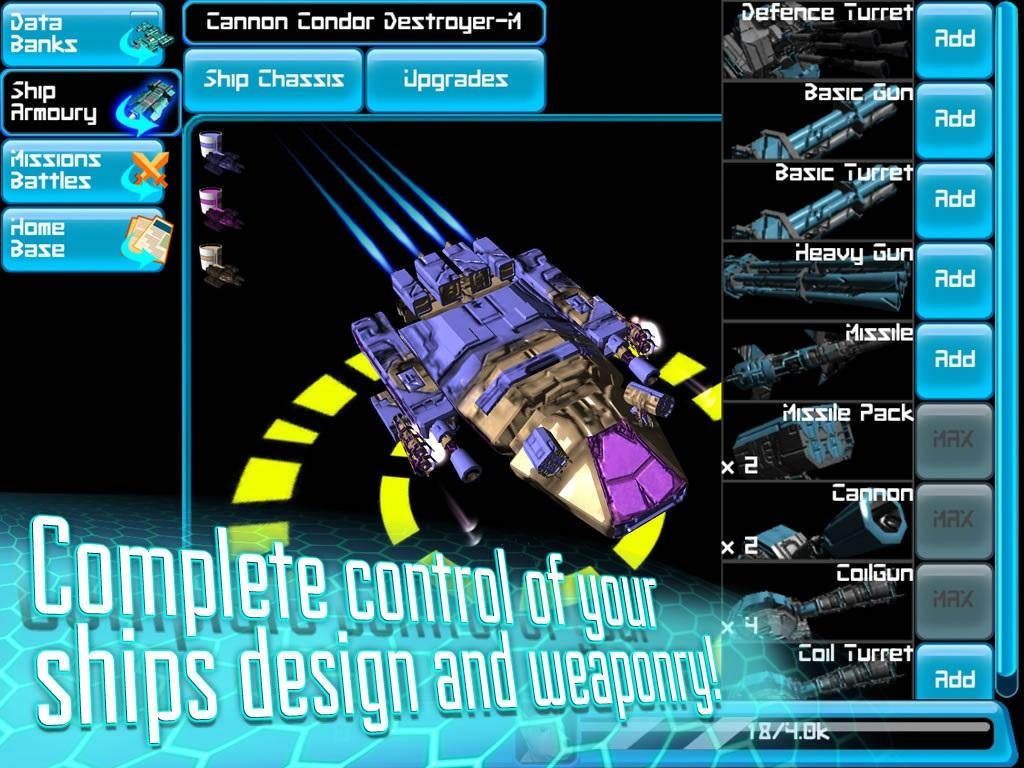 Galactic Space WAR Strategy 3D- screenshot