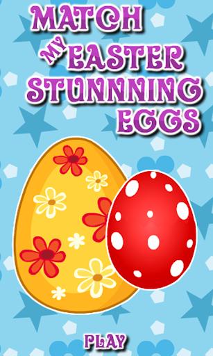 Match My Stunning Easter Eggs