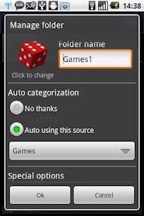 Auto App Organizer free - screenshot thumbnail