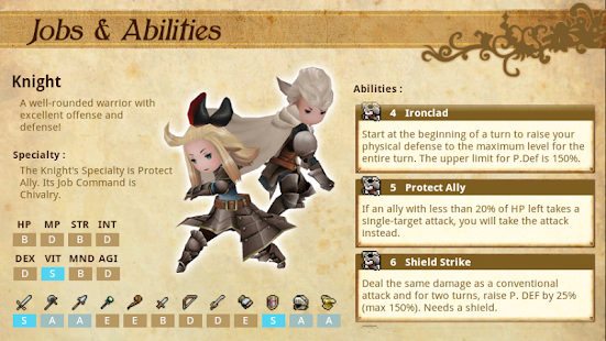 Bravely Default Companion- screenshot thumbnail