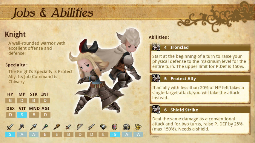 Bravely Default Companion- screenshot