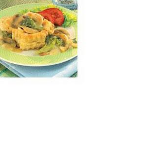 Chicken Dijon in Pastry Shells