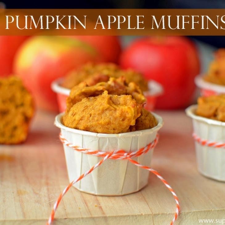 Pumpkin Apple Muffin Recipe for Kids