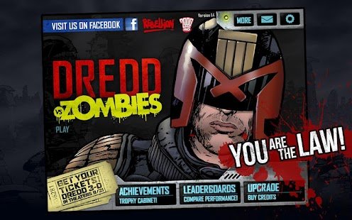 Judge Dredd vs. Zombies Screenshot