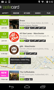 tastecard Restaurant Discounts - screenshot thumbnail