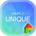 SimpleUnique LINELauncherTheme icon
