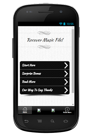 Recover Music File Guide