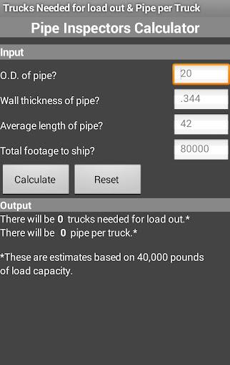 【免費生產應用App】Pipe Inspectors Calculator-APP點子