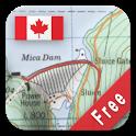 Canada Topo Maps Free icon