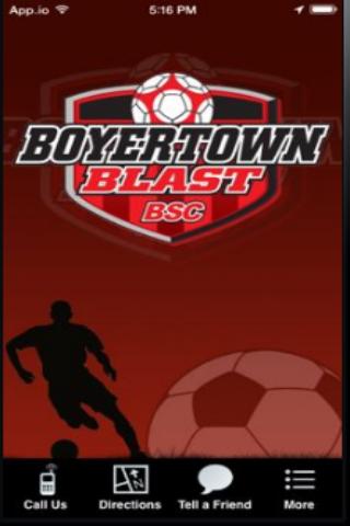 Boyertown Blast Soccer