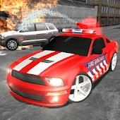 Crazy Driver Fireman Duty 3D