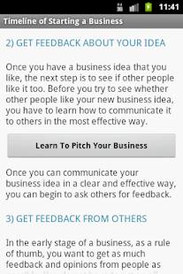 Business Plan & Start Startup- screenshot thumbnail