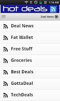 Screenshot of Hot Deals