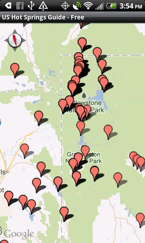 US Hot Springs Guide - Free- screenshot