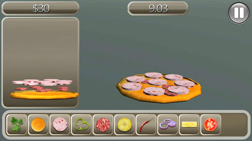 比萨烹饪3D