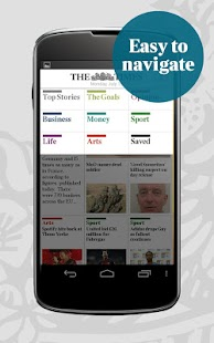 The Times for smartphone - screenshot thumbnail