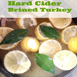 Hard Cider Brined Turkey