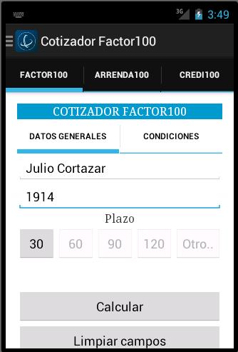 Cotizador100