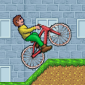 Mountain Bike Boy - Race Game