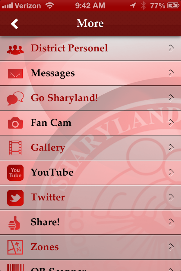 Sharyland ISD - South Texas - screenshot