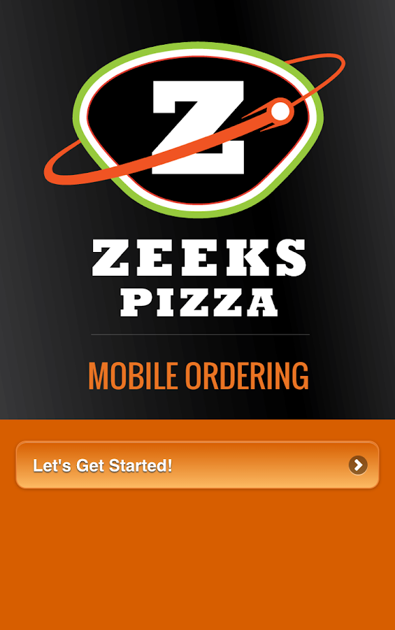 Zeeks Mobile Ordering- screenshot
