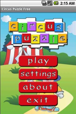 Circus Puzzle Free- screenshot