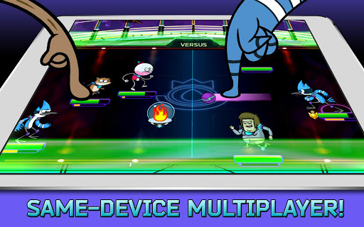 Grudgeball - Regular Show - screenshot