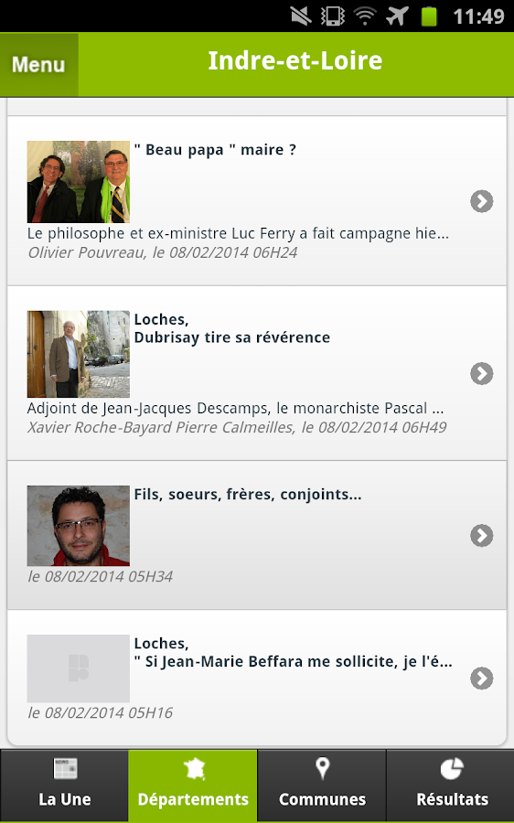 LaNR Municipales- screenshot