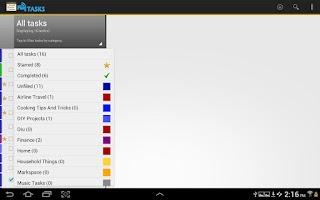 Screenshot of Fliq Tasks