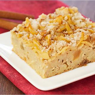 Cinnamon-Raisin Noodle Kugel
