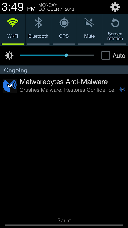 Malwarebytes Anti-Malware- screenshot