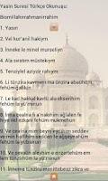 Screenshot of Yasin-i Serif(Yasin Suresi)
