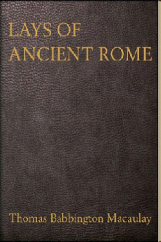 Horatius Lays of Ancient Rome