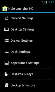 Holo Launcher for ICS v3.0.7 (Plus)
