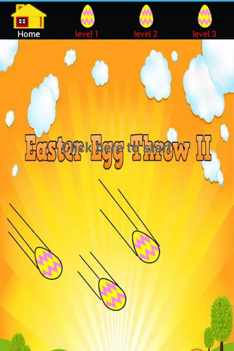 Easter Egg Throwing Game II